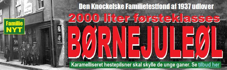 HenvBØRNEJULEØL