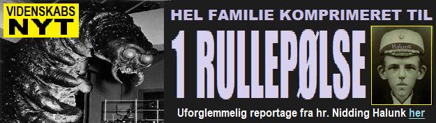 HenvHalunk FAMILIE KOMPRIMERET