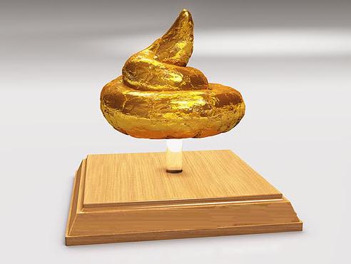 Goldenturd