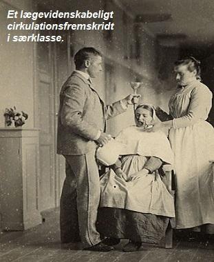 Patient tvangsmades med maltose.