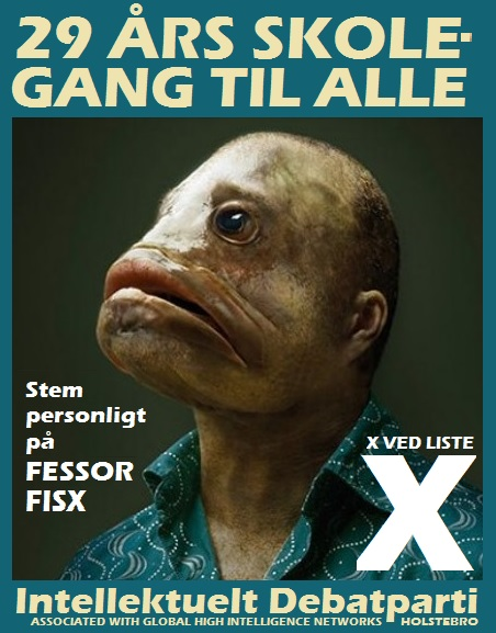 Intellektuel plakat