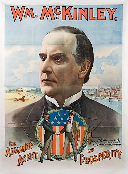 McKinley præsidentvalgplakat