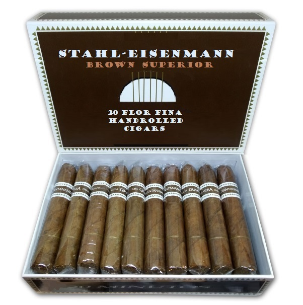 Cigarkasse Stahl