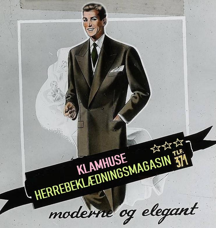 Herrebeklædningsannonce