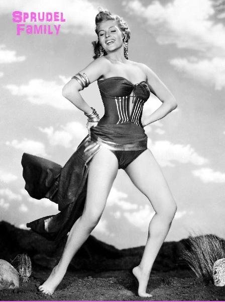 1952: Rita Hayworth (1918-1987) as nightclub singer Chris Emery in 'Affair In Trinidad', directed by Vincent Sherman. (Photo by Robert Coburn Sr.)