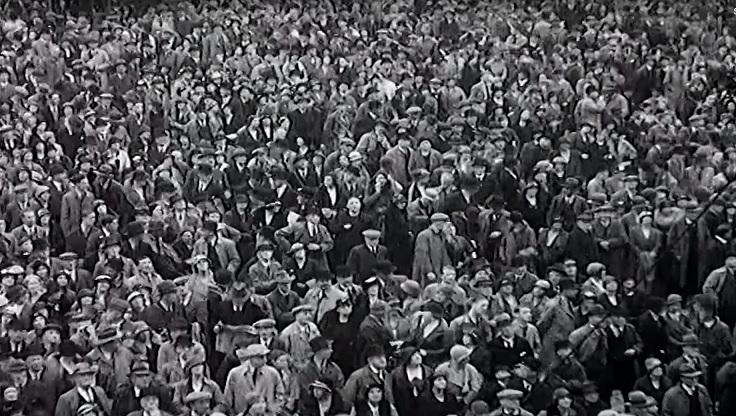 Folkemængde landpøbel