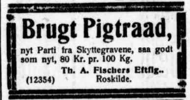 Pigtråd JyllP 27021919