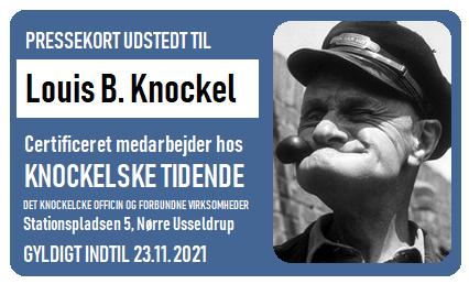 Pressekort Knockel