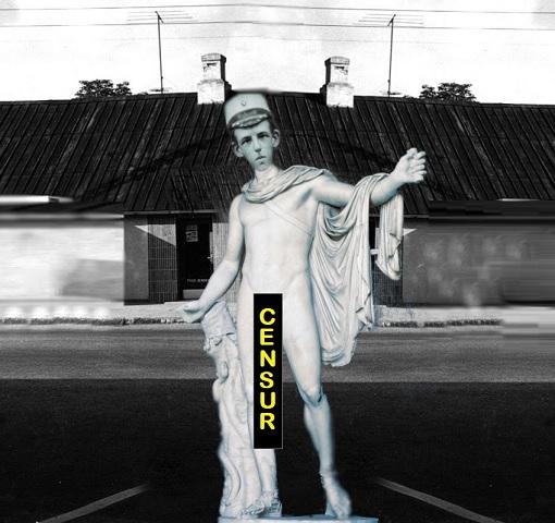 Halunk statue